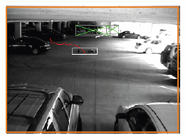 Clutter removal step in security video analysis