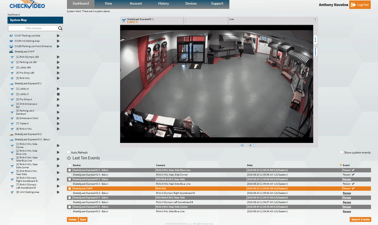 CheckVideo Video Surveillance Portal