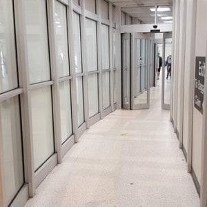 IAH Houston Airport Exit Lane Installation
