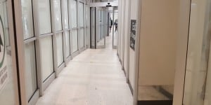 IAH Airport Exit Lane