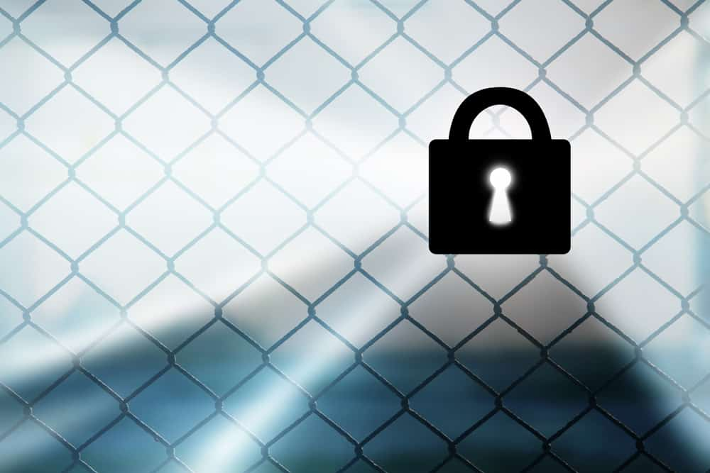 CheckVideo 2017 video surveillance trends Virtual fence security padlock