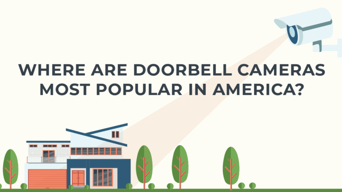 The Most Popular States for Doorbell Cameras | CheckVideo